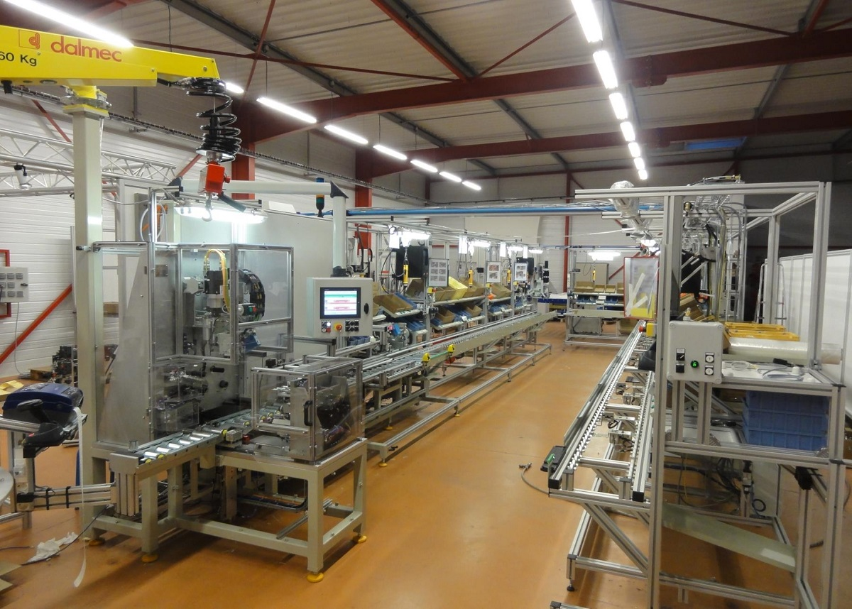 ligne production, lean manufacturing